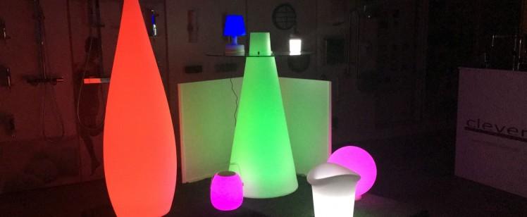 Nueva exposición de luces para jardín en ABC Poblenou
