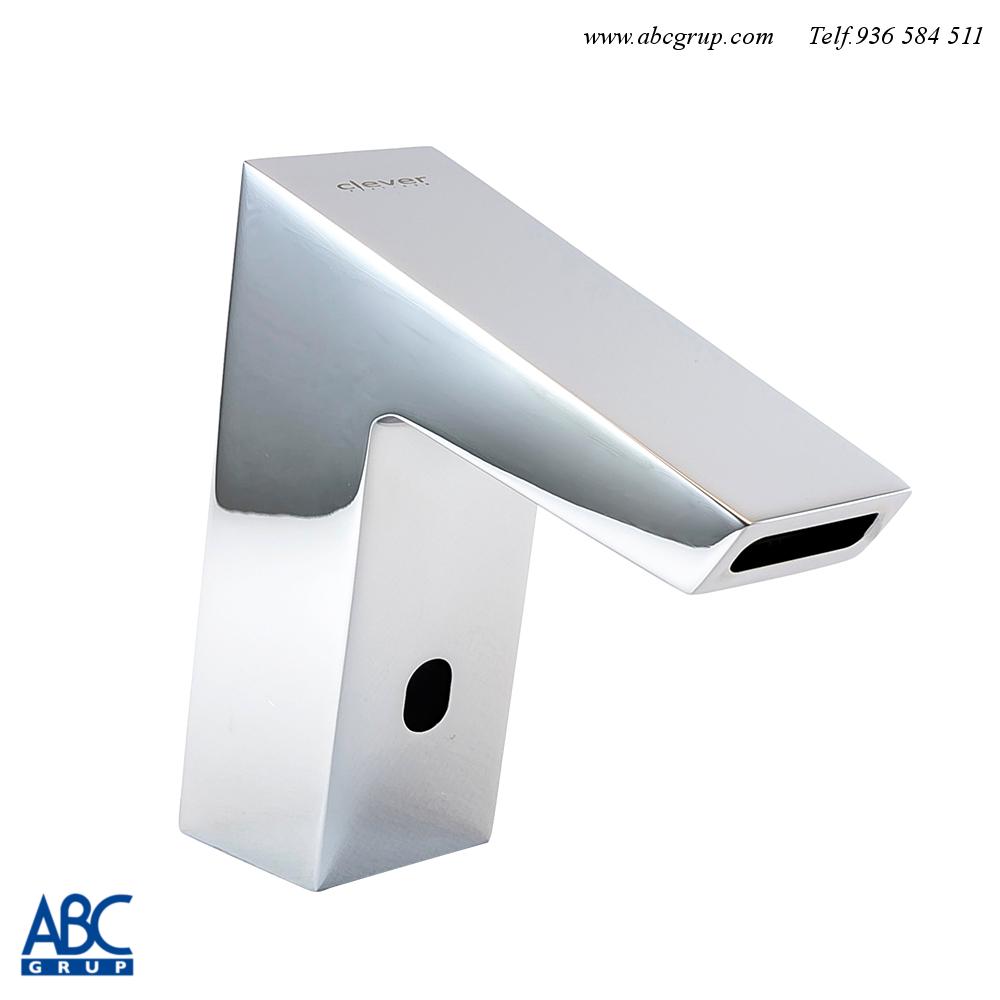 comprar grifo electronico lavabo clever en abcgrup tiendas showroom www.abcgrup.com