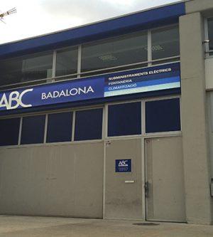 Nueva tienda de suministros eléctricos ABC Badalona