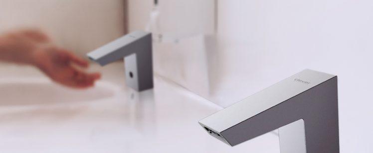 Grifo de lavabo electrónico Platinum – Clever