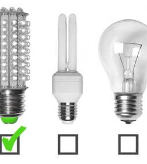 Iluminación LED vs Bajo consumo